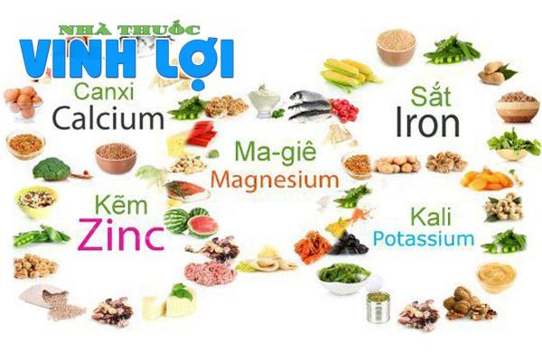 Chế độ ăn giàu chất dinh dưỡng thiết yếu