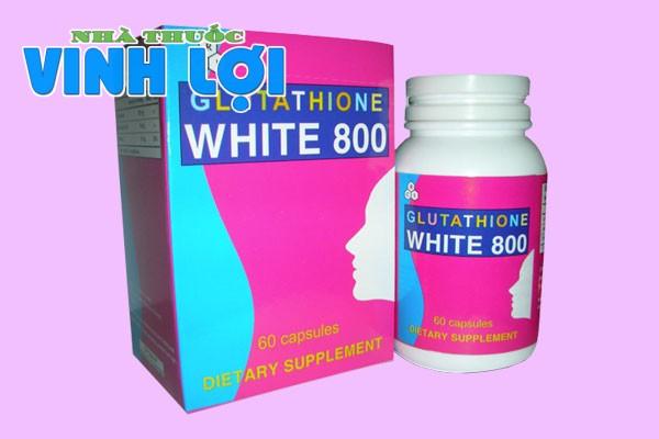Lưu ý khi sử dụng Glutathione White 800