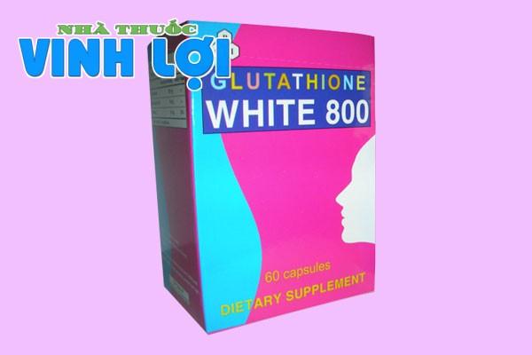 Tác dụng phụ của Glutathione White 800