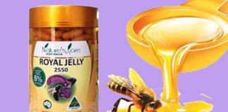 Viên uống sữa ong chúa Royal Jelly 2550mg