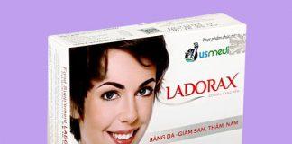 Viên uống trắng da Ladorax