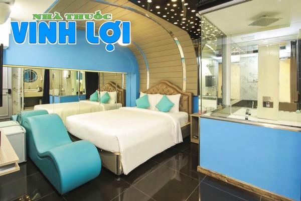 Khách sạn Cupid tại TP Hồ Chí Minh có ghế tantra
