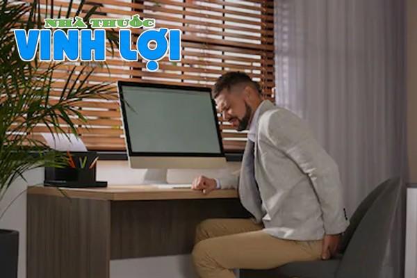 Nguyên nhân bệnh trĩ một phần do tính chất công việc