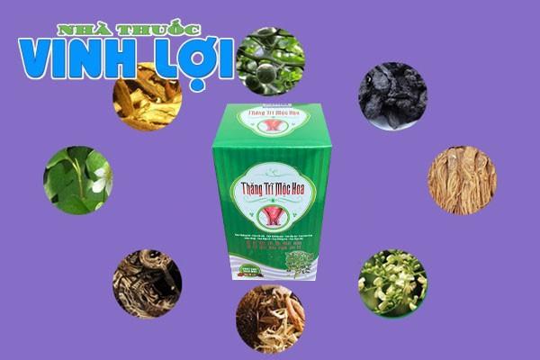 Hình ảnh 6 hoạt chất của Thăng Trĩ Mộc Hoa