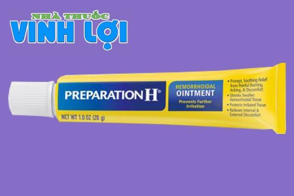 Thuốc điều trị bệnh trĩ Preparation H