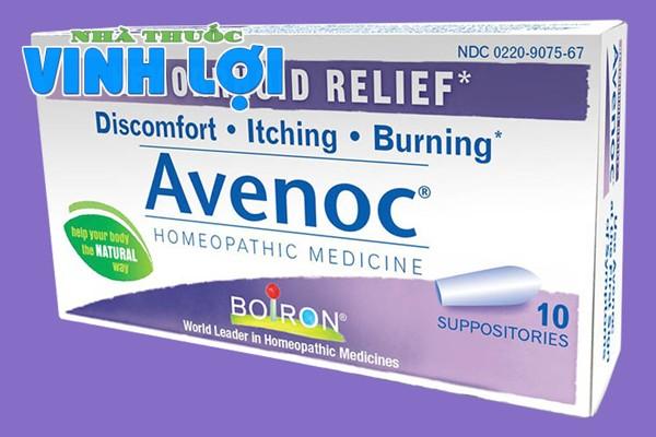 Thuốc đặt hậu môn chữa bệnh trĩ Avenoc