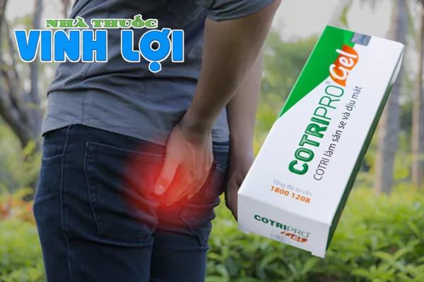 Công dụng của thuốc Cotripro Gel