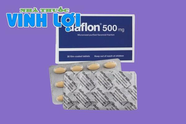 Thuốc trĩ Daflon 500mg