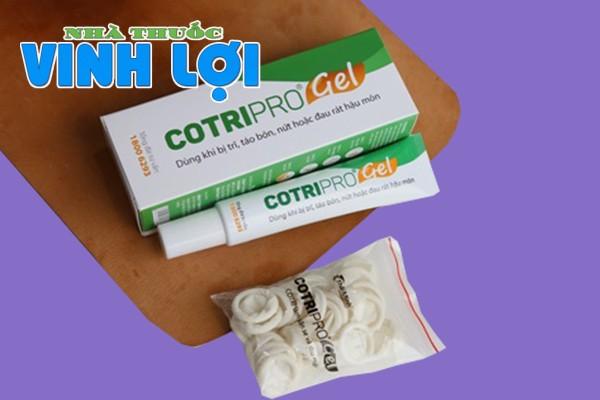 Cotripro Gel là thuốc gì?
