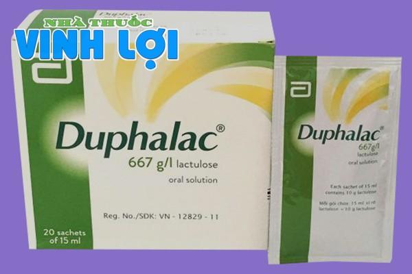 Lưu ý khi dùng Duphalac