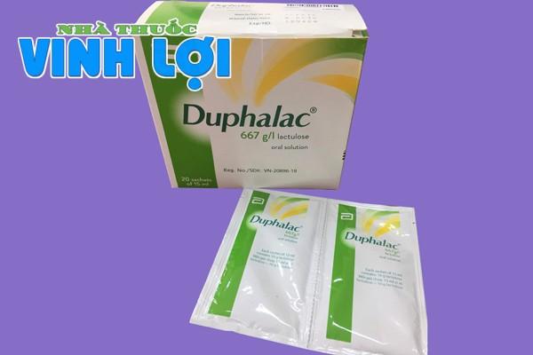 Cách sử dụng thuốc Duphalac