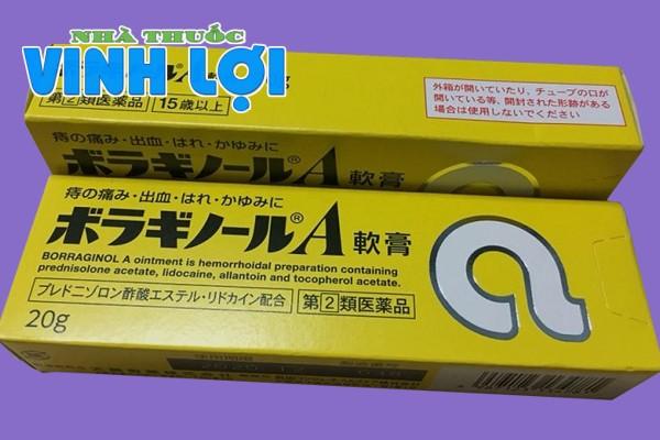 Nên dùng viên đặt hay kem bôi trĩ chữ A của Nhật?