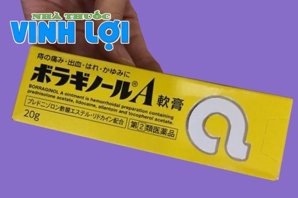 Review kem bôi trĩ chữ A của Nhật