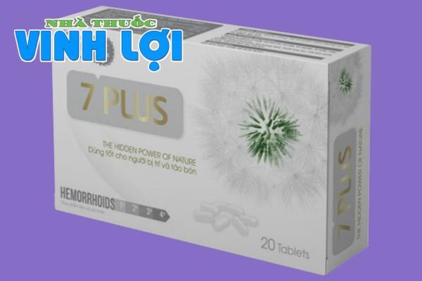 Tác dụng dược lý của siêu trĩ 7 Plus