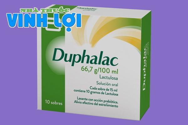 Duphalac có tác dụng phụ không?