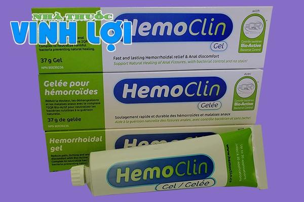 Hemoclin Gel có tác dụng phụ không?