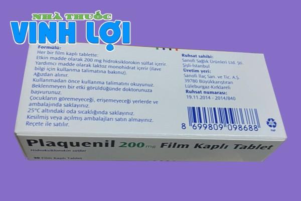 Tác dụng của thuốc Plaquenil 200mg