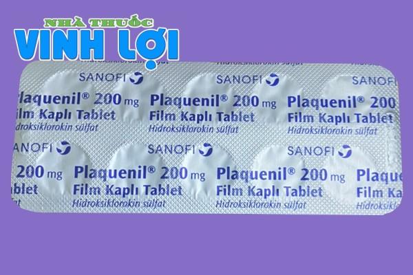 Chống chỉ định Thuốc HCQ Plaquenil 200mg