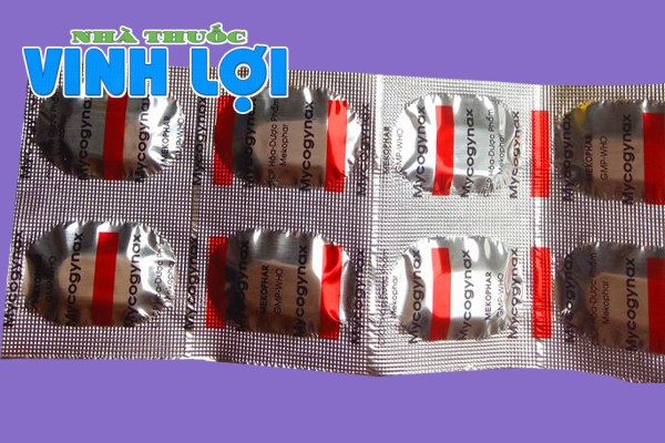Hình ảnh vỉ thuốc Mycogynax