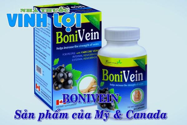 Bonivein là một sản phẩm của Mỹ và Canada