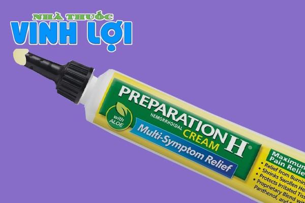 Hình ảnh tuyp kem bôi trĩ Preparation H