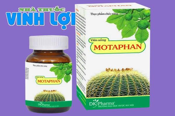 Hình ảnh hộp và lọ Motaphan