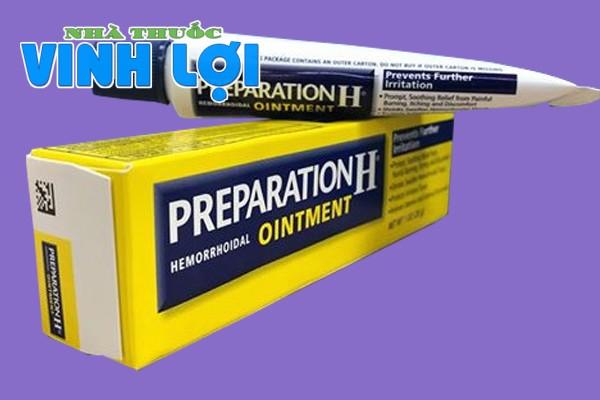 Hình ảnh thuốc Preparation H Ointment