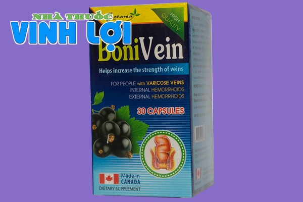 Hình ảnh hộp viên uống BoniVein