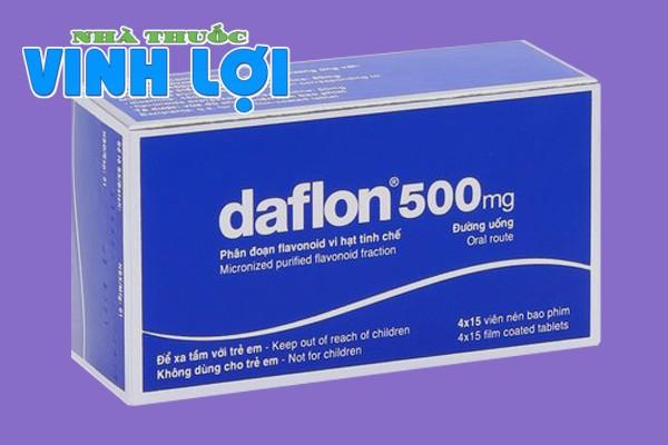 Hình ảnh hộp thuốc Daflon 500mg