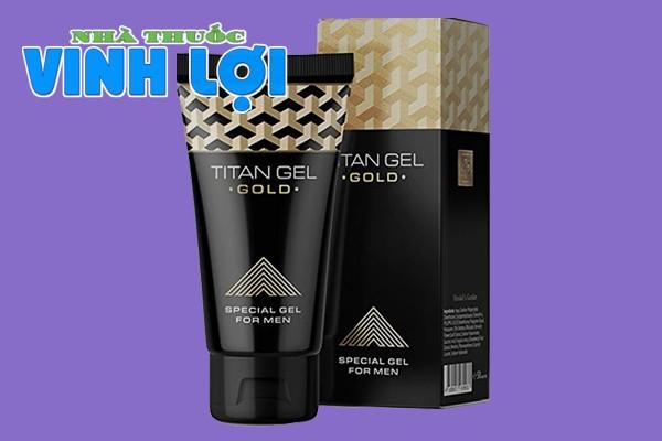 Hình ảnh gel tăng kích thước dương vật titan gel gold