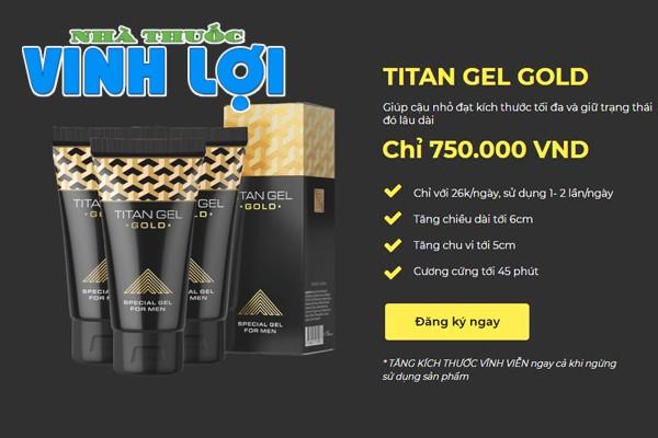 Titan Gel Gold giá bao nhiêu?