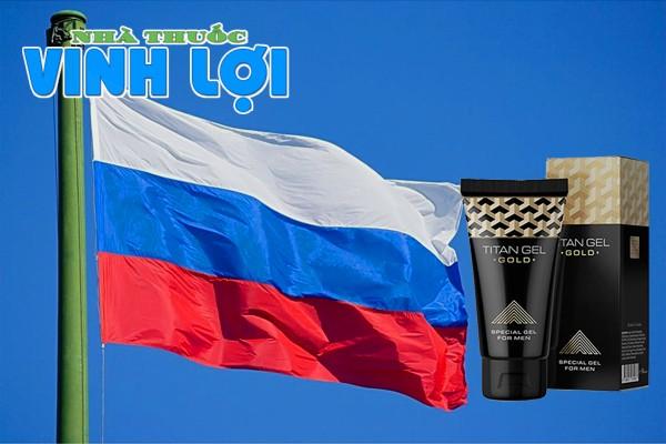Titan Gel Gold có nguồn gốc từ nước Nga