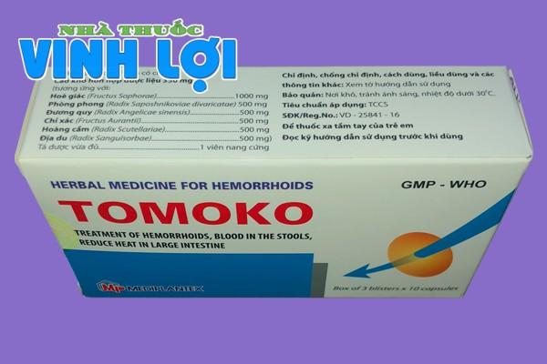 Thành phần của thuốc Tomoko