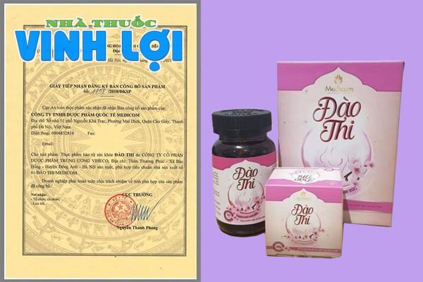 Đào Thi được cấp giấy phép lưu hành trên thị trường
