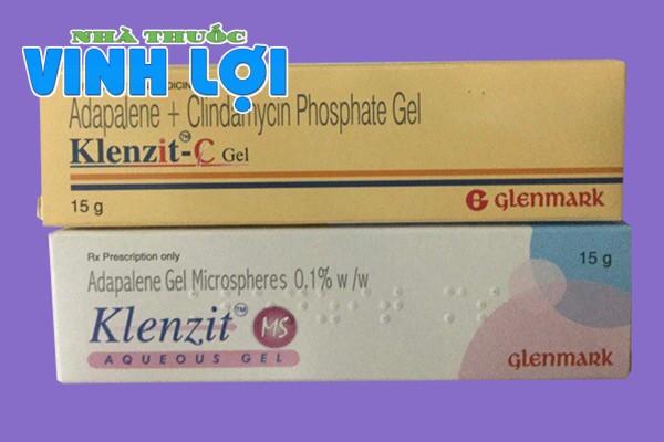 Sự khác nhau giữa Klenzit C và thuốc Klenzit MS