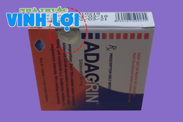 Phân biệt thuốc Adagrin thật và hàng giả