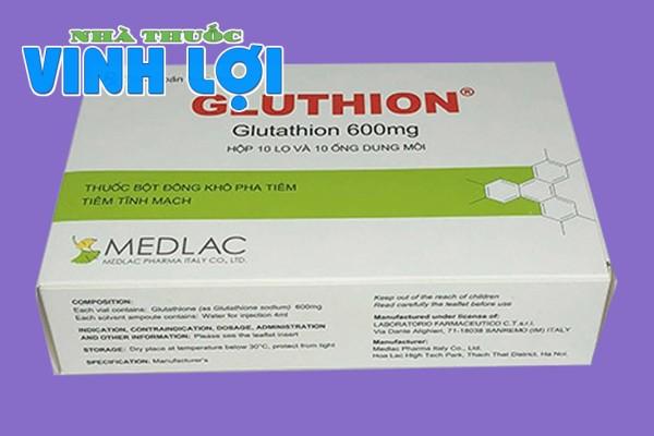Hình ảnh hộp thuốc Gluthion 600mg