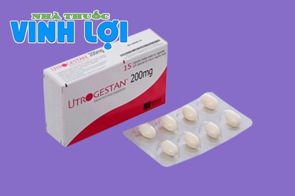 Hình ảnh thuốc Utrogestan 200mg