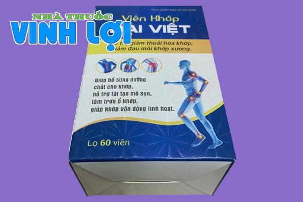 Sản phẩm Viên khớp Đại Việt có tốt không?