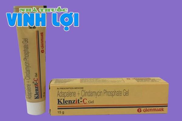 Hình ảnh thuốc Klenzit C Gel 15g