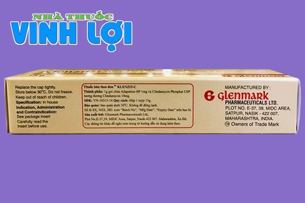 Hộp Klenzit-C Glenmark