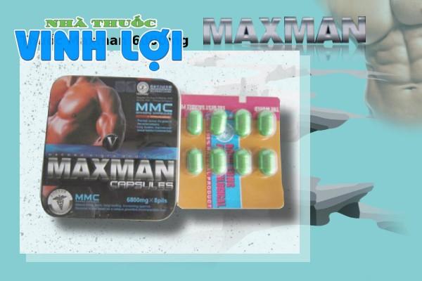 Maxman 6800mg có tác dụng nhanh và mạnh