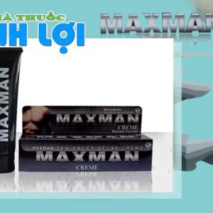 Gel bôi trơn Maxman hiệu quả và dễ sử dụng