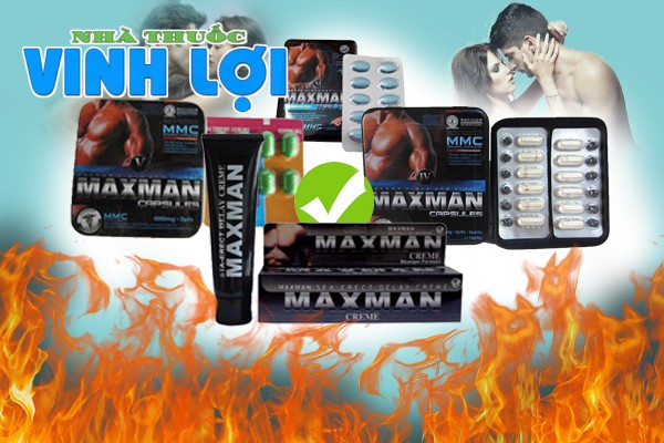 Maxman nhận được đánh giá tích cực từ người dùng
