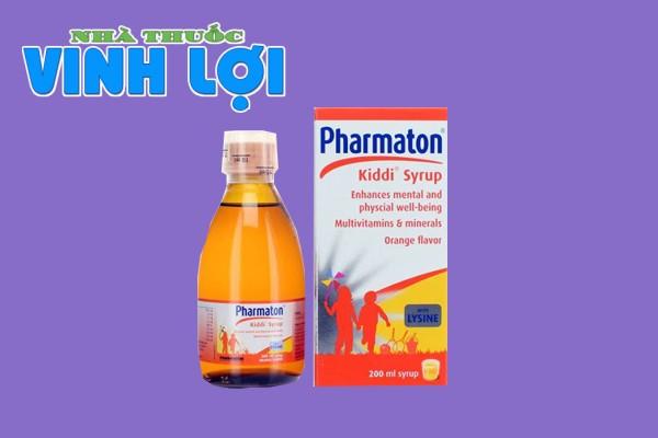 Pharmaton Kiddi cho trẻ em
