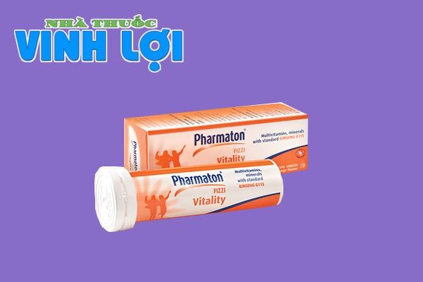 Pharmaton viên sủi Fizzi Vitality