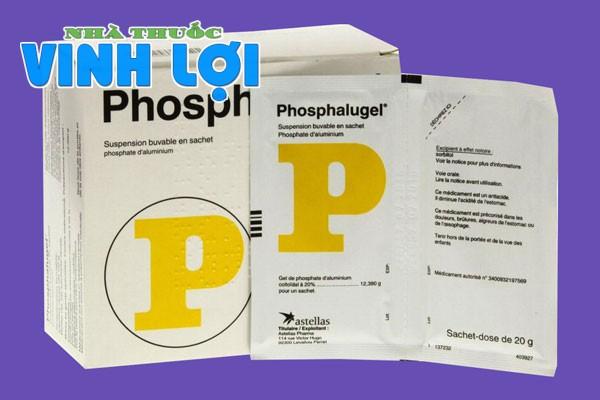Thuốc dạ dày Phosphalugel (Thuốc dạ dày chữ P)
