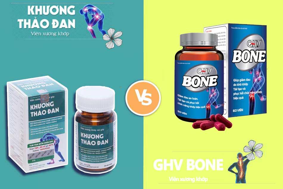 GHV Bone và Khương Thảo Đan