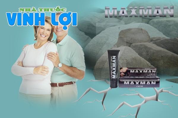 Sử dụng Maxman đúng cách để thuốc có hiệu quả cao