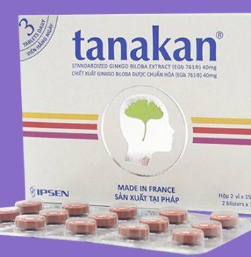Thuốc Tanakan 40mg của Pháp